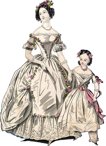 Womens fashion in the 1800s 13
